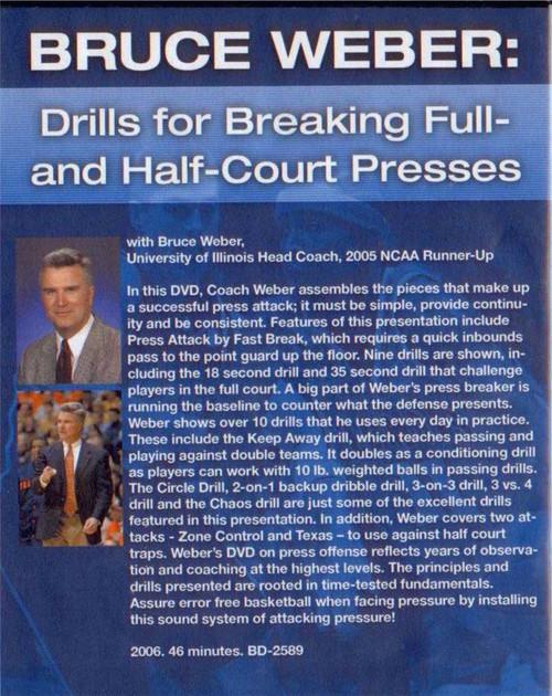 (Rental)-Full & Half Court Press Break And
