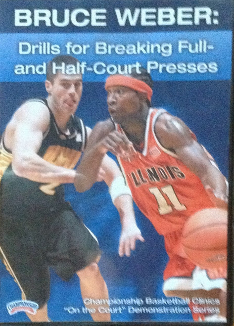 Full & Half Court Press Break And by Bruce Weber Instructional Basketball Coaching Video