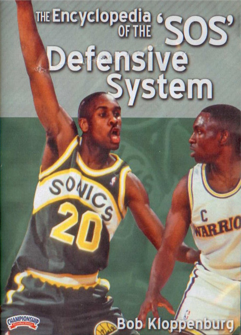 The Encyclopedia Of The Sos Defensive System By by Bob Kloppenburg Instructional Basketball Coaching Video