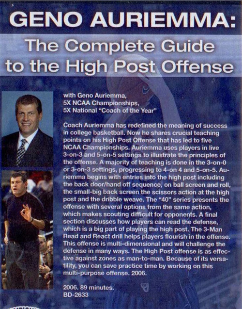 (Rental)-The Complete Guide To The High Post Offense