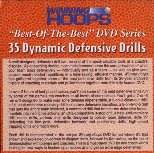 (Rental)-Over 35 Dynamic Defensive Drills