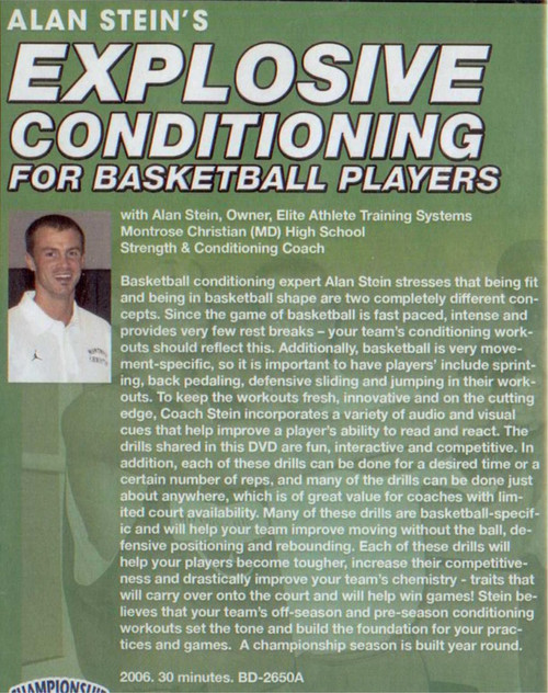 (Rental)-Explosive Conditioning For Basketball Players