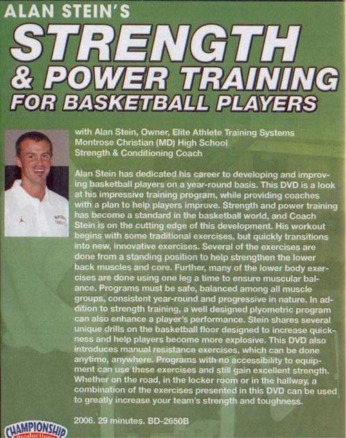 (Rental)-Strength Training & Power Training For Basketball