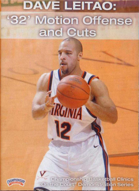 32 Motion Offense & Cuts by Dave Leitao Instructional Basketball Coaching Video