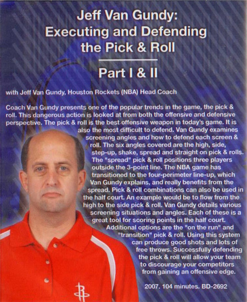 (Rental)-Executing & Defending The Pick & Roll