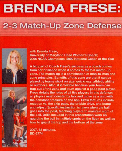 (Rental)-2 3 Match--up Zone Defense