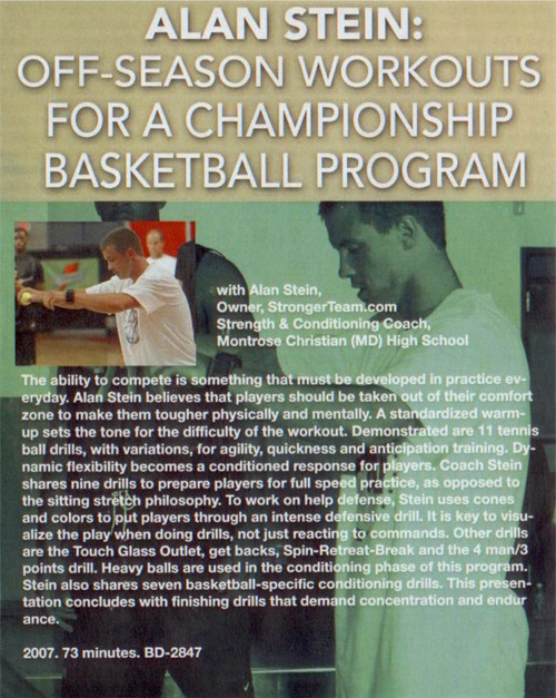 (Rental)-Off-season Workouts For Basketball