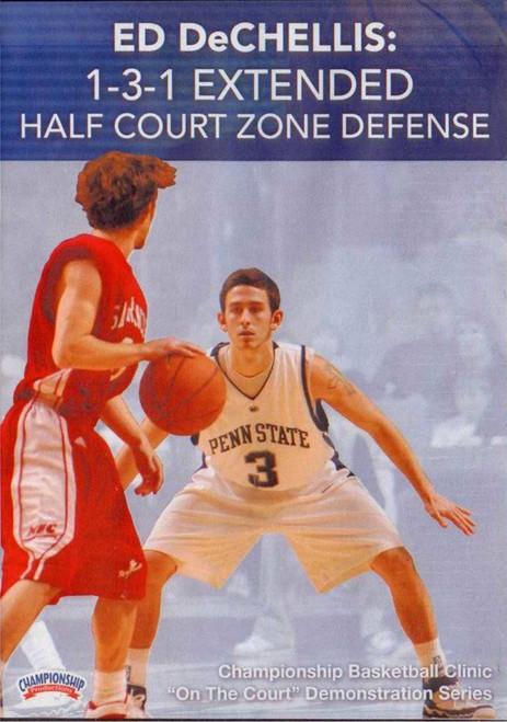 Ed Dechellis: 1--3--1 Extended Half Court Zone by Ed DeChellis Instructional Basketball Coaching Video