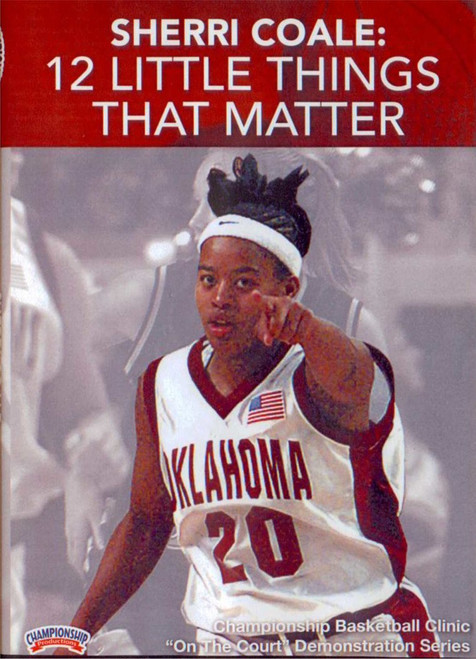 12 Little Things That Matter by Sherri Coale Instructional Basketball Coaching Video