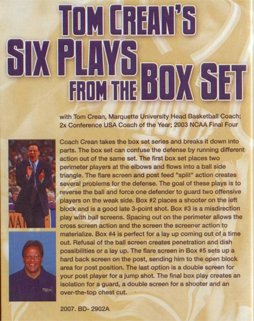 (Rental)-Tom Crean's Six Plays From The Box Set