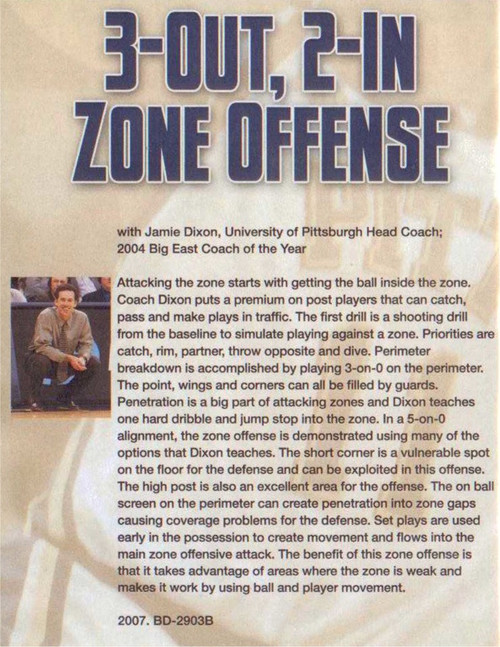 (Rental)-3 Out, 2 In Zone Offense