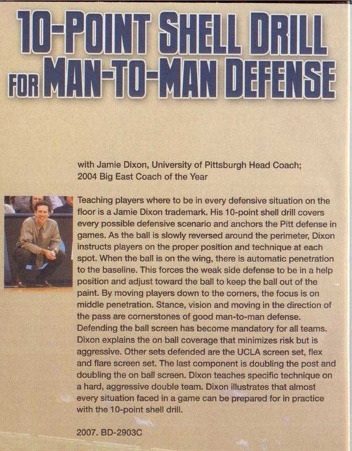 (Rental)-10 Point Shell Drill For Man To Man Defense
