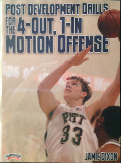 Post Development Drills For The 4--out, 1--in Motion by Jamie Dixon Instructional Basketball Coaching Video