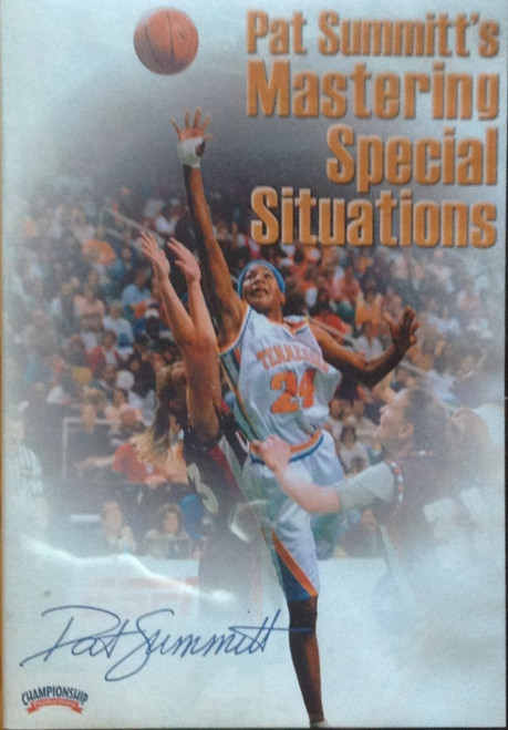 Mastering Special Situations by Pat Summitt Instructional Basketball Coaching Video