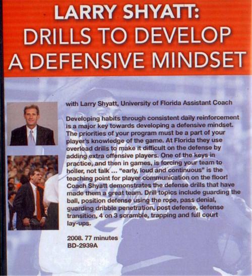 (Rental)- Drills To Develop A Defensive Mindset
