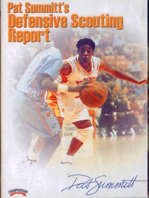 Pat Summitt's Defensive Scouting Repor by Pat Summitt Instructional Basketball Coaching Video
