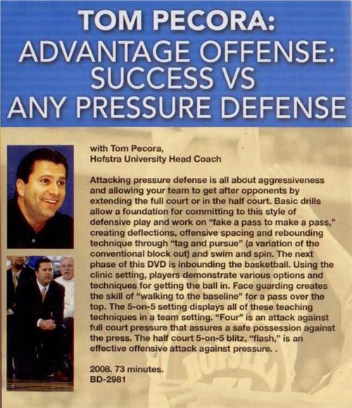 (Rental)-Advantage Offense: Success--vs--any Pressure Defense
