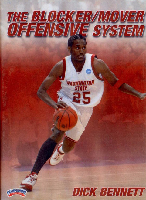 The Blocker/mover Offensive System by Dick Bennett Instructional Basketball Coaching Video