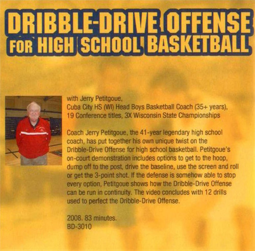 (Rental)-The Dribble Drive Motion Offense For High School Basketball