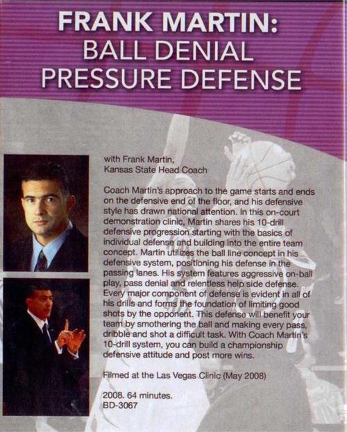 (Rental)-Ball Denial Pressure Defense