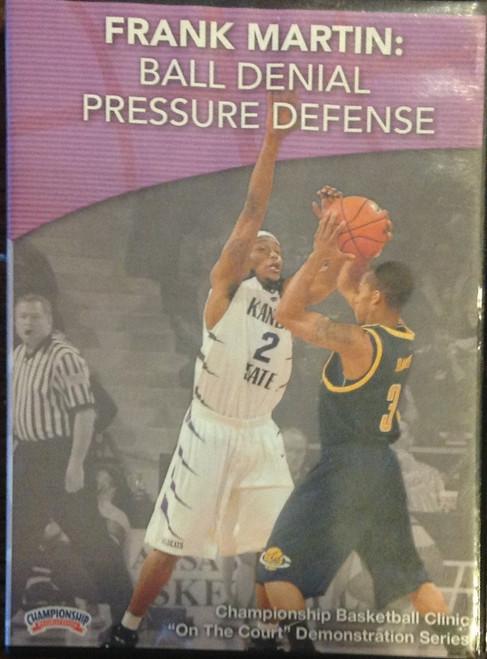 Ball Denial Pressure Defense by Frank Martin Instructional Basketball Coaching Video