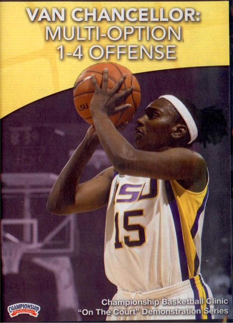 Multi--option 1--4 Offense by Van Chancellor Instructional Basketball Coaching Video