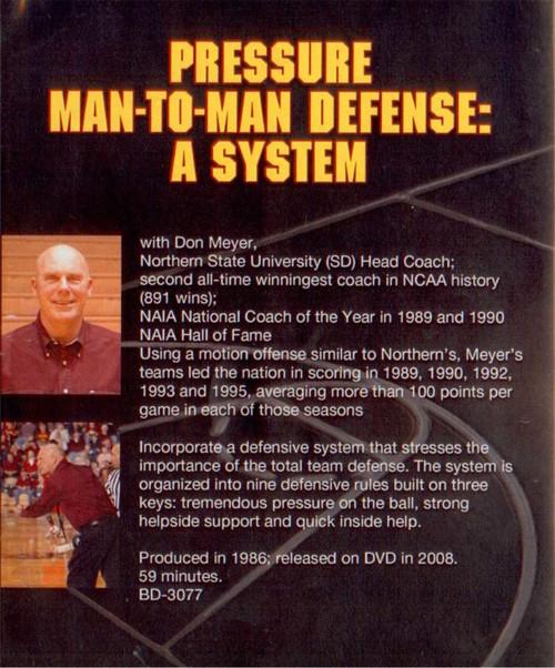 (Rental)-Pressure Man To Man Defense System