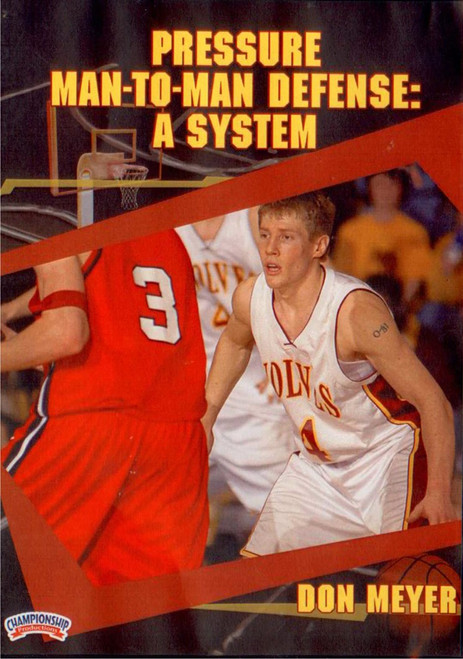 Pressure Man To Man Defense System by Don Meyer Instructional Basketball Coaching Video