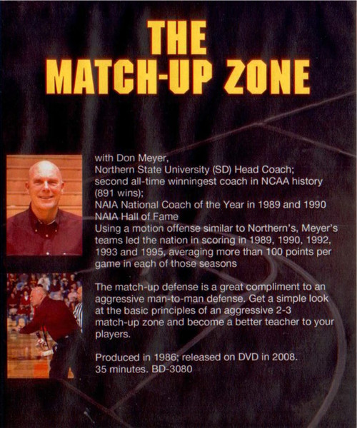 (Rental)-The Matchup Zone Defense