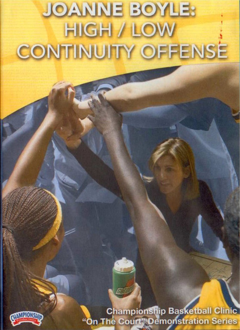 High Low Continuity Offense by JoAnne Boyle Instructional Basketball Coaching Video