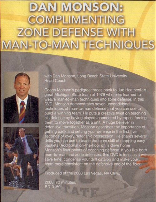 (Rental)-Complimenting Zone Defense With Man To Man Principles