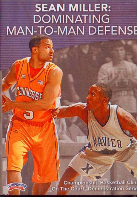 Dominating Man To Man Defense by Sean Miller Instructional Basketball Coaching Video