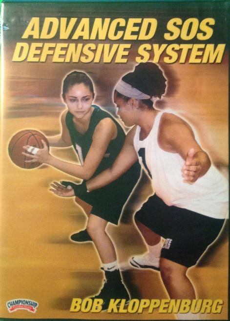 Advanced Sos Defensive System by Bob Kloppenburg Instructional Basketball Coaching Video