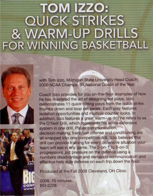 (Rental)-Quick Strikes & Warm--up Drills For Basketball