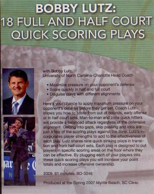 (Rental)-18 Full & Half Court Quick  Scoring Plays