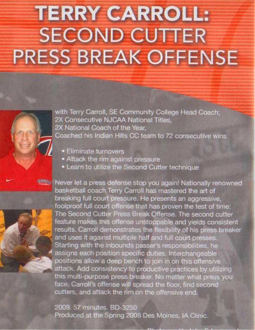 (Rental)-Second Cutter Press Break Offense