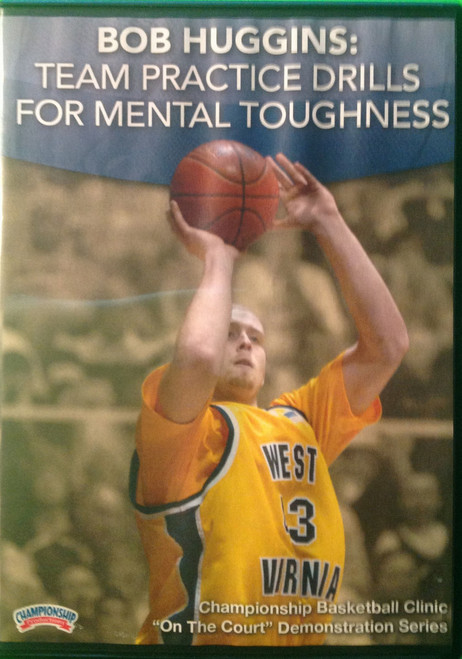 Team Practice Drills For Mental Toughness by Bob Huggins Instructional Basketball Coaching Video