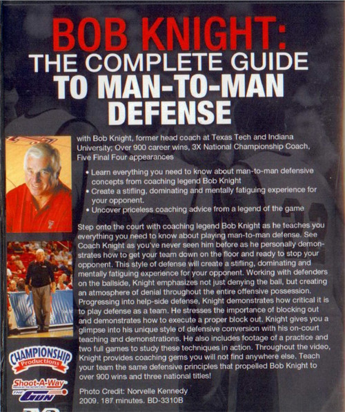 (Rental)-Complete Guide To Man To Man Defense