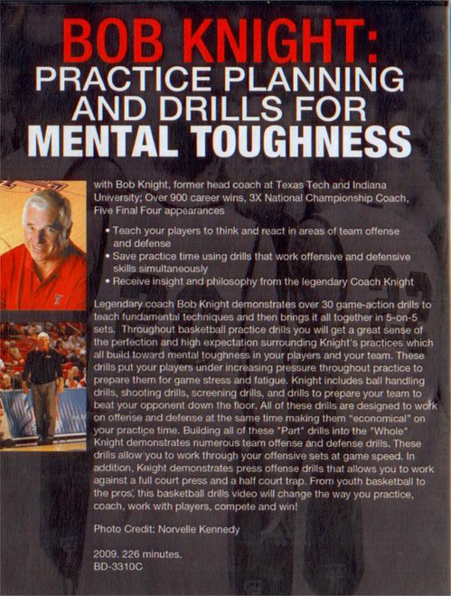 (Rental)-Practice Planning & Drills For Mental Toughness