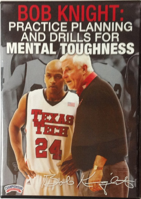 Practice Planning & Drills For Mental Toughness by Bob Knight Instructional Basketball Coaching Video