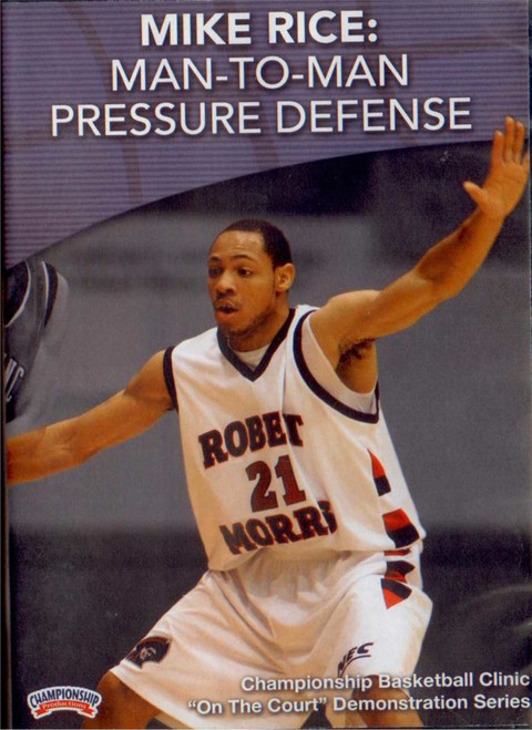 Man--to--man Pressure Defense by Leon Rice Instructional Basketball Coaching Video