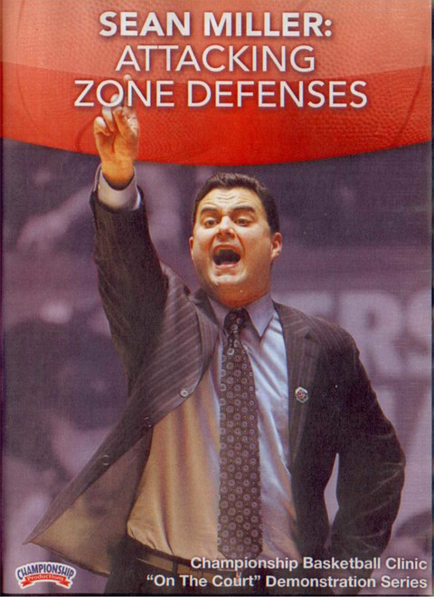 Sean Miller: Attacking Zone Defenses by Sean Miller Instructional Basketball Coaching Video