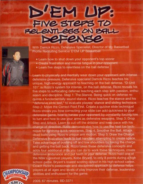 (Rental)-D'em Up:  Five Steps To Relentless Defense
