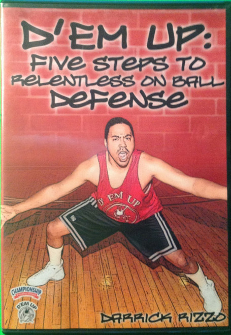 D'em Up:  Five Steps To Relentless Defense by Darrick Rizzo Instructional Basketball Coaching Video