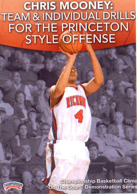 Team & Individual Drills For The Princeton Style Offense by Chris Mooney Instructional Basketball Coaching Video