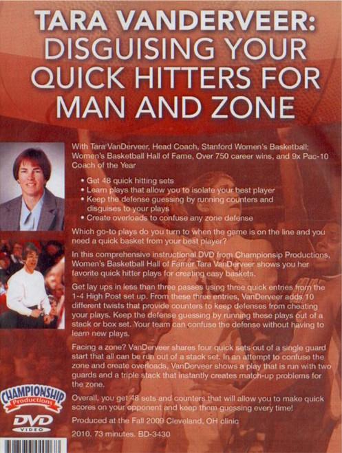 (Rental)-Quick Hitters Vs. Man & Zone Defenses