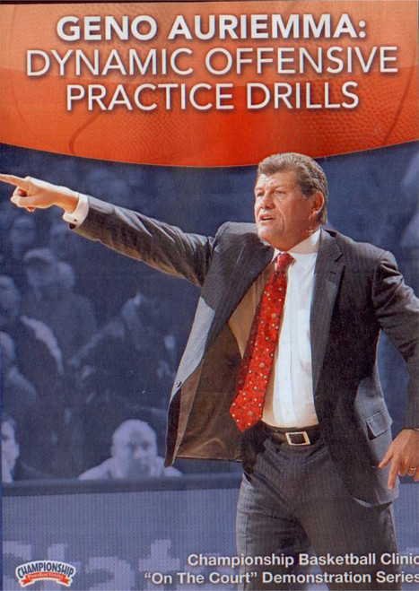 Dynamic Offensive Practice Drills by Geno Auriemma Instructional Basketball Coaching Video