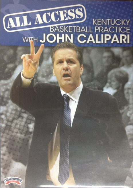 All Access: John Calipari Disc 2 by John Calipari Instructional Basketball Coaching Video
