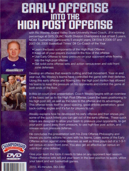 (Rental)-Early Offense Ino The High Post Offense