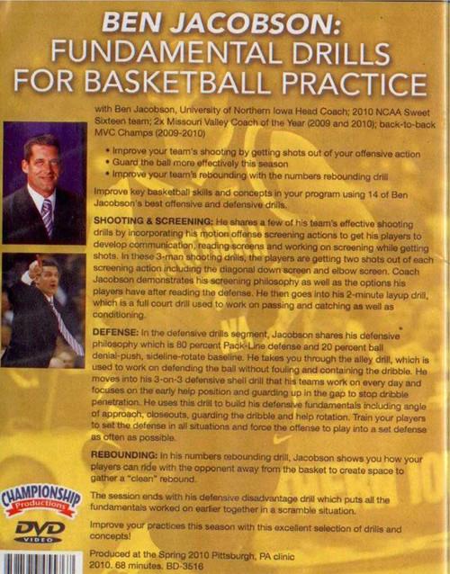 (Rental)-Fundamental Drills For Basketball Practice